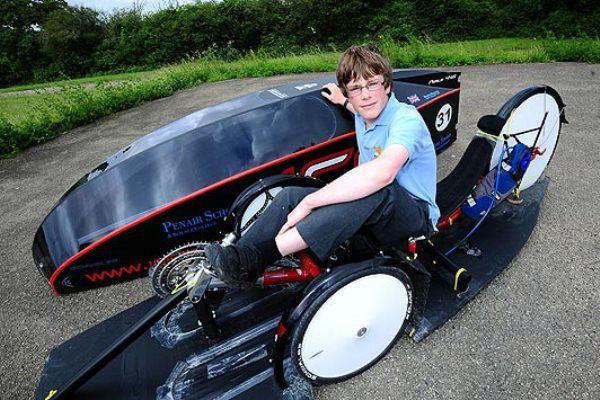 13-Летний британец выиграл гонку самых экологичных в мире автомобилей