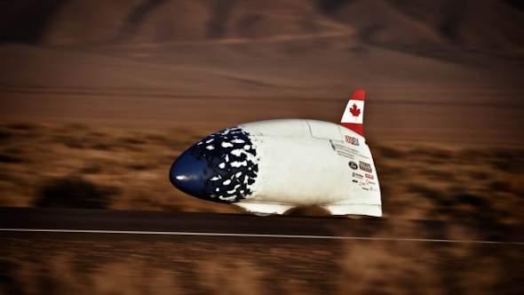 Aerovelo намерена вернуть в канаду рекорд скорости веломобиля