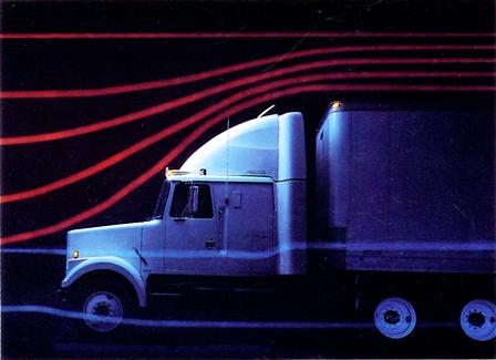 Аэродинамический хвост улучшает обтекаемость грузовика