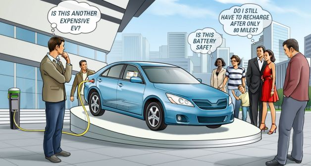 Аккумулятор envia изменит историю электромобиля