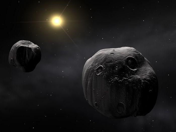Астероиды сталкивались с землей чаще, чем считалось ранее
