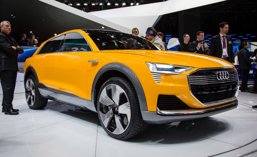 Audi представляет водородный концепт audi h-tron quattro