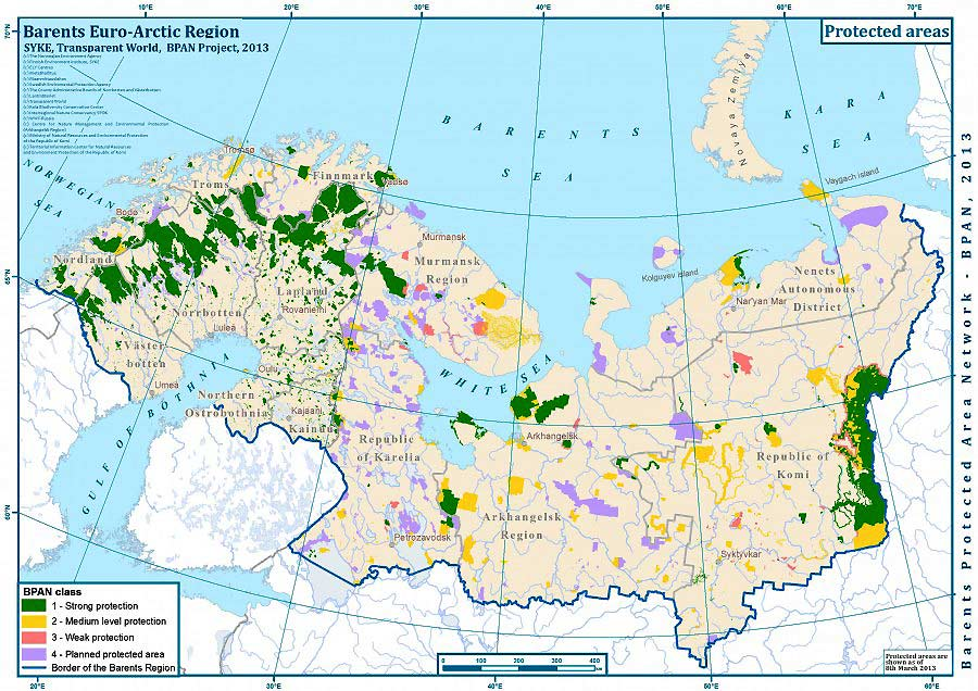 Баренцев регион — другим наука