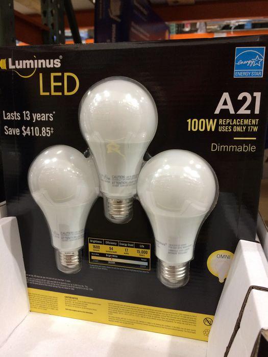 Бюджетные светодиодные лампы на amazon