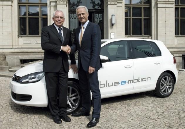 Blue-e-motion – электромобиль от volkswagen