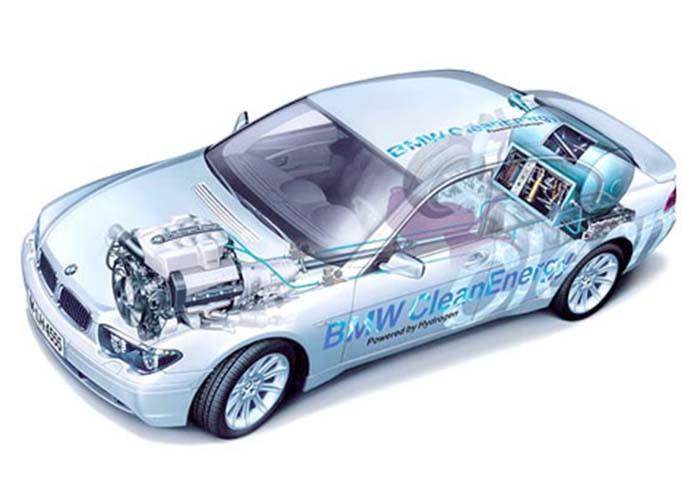 Bmw hydrogen 7 – космические технологии на дорогах планеты