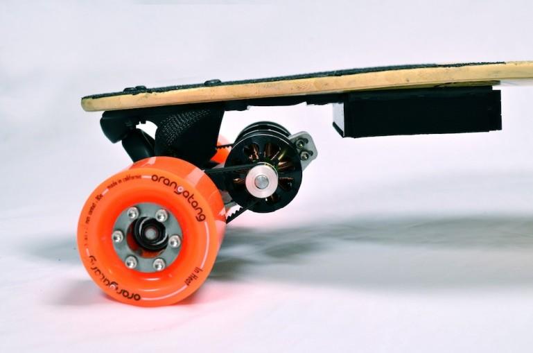 Boosted boards – самое легкое в мире электрическое транспортное средство