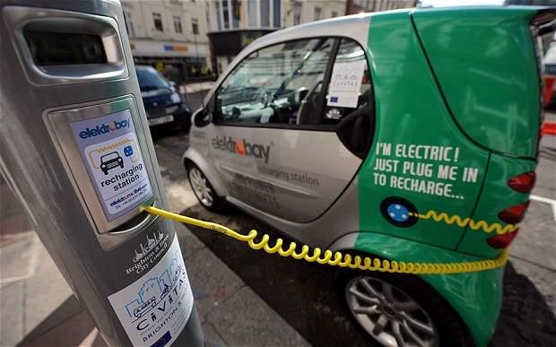 Британские министры будут ездить на электромобилях