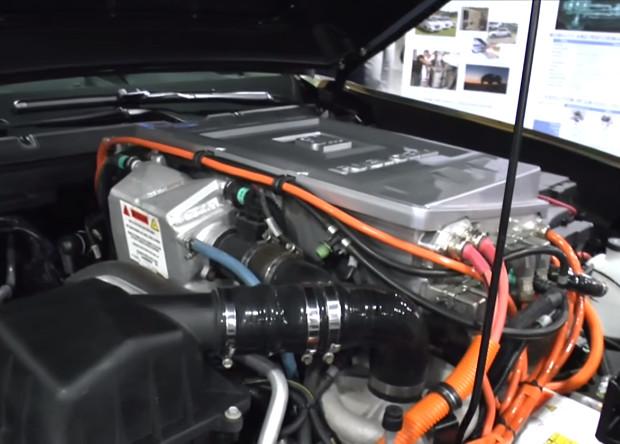Chevrolet раскрыла подробности о новом водородном внедорожнике