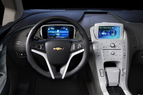 Chevrolet volt дебютирует в японии