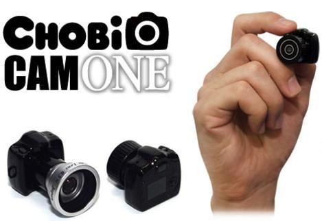 Chobicam1 — самая миниатюрная камера в мире