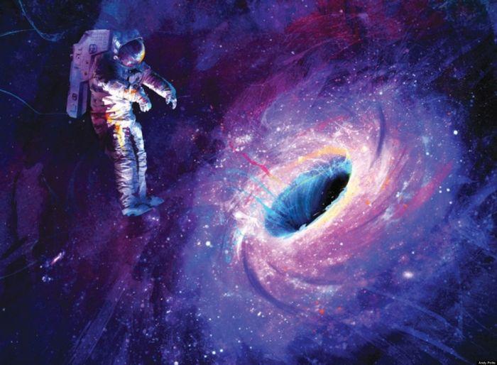 Что случится, если вы попадете в черную дыру?