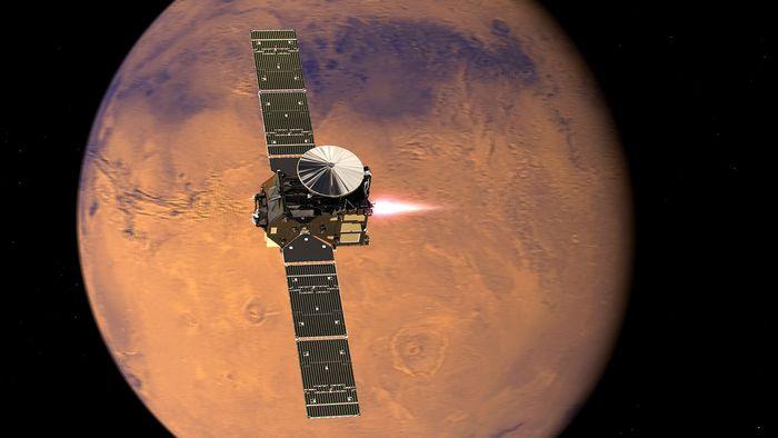 Для появления жизни на марсе не требуется много воды