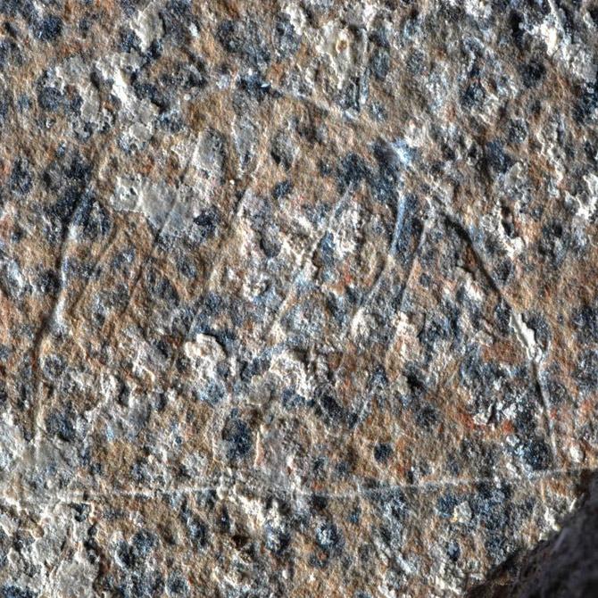 Древнейшее изображение стоянки людей?