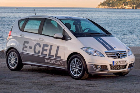 E-cell: mercedes-benz готов к выпуску электромобилей