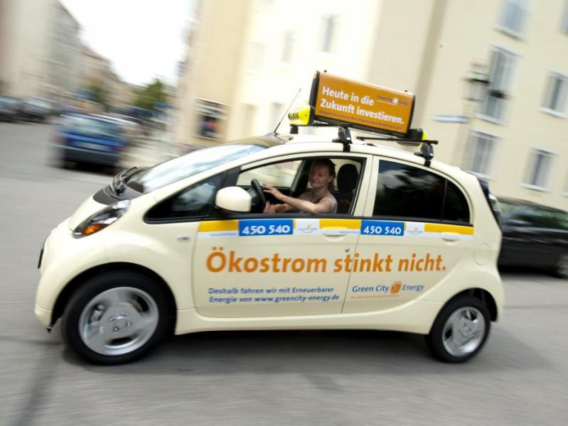 Е-такси в мюнхене. клиенты довольны, водители - нет