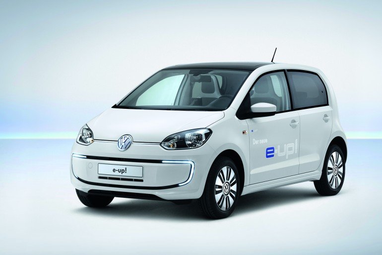 E-up! – первый серийный электромобиль от volkswagen
