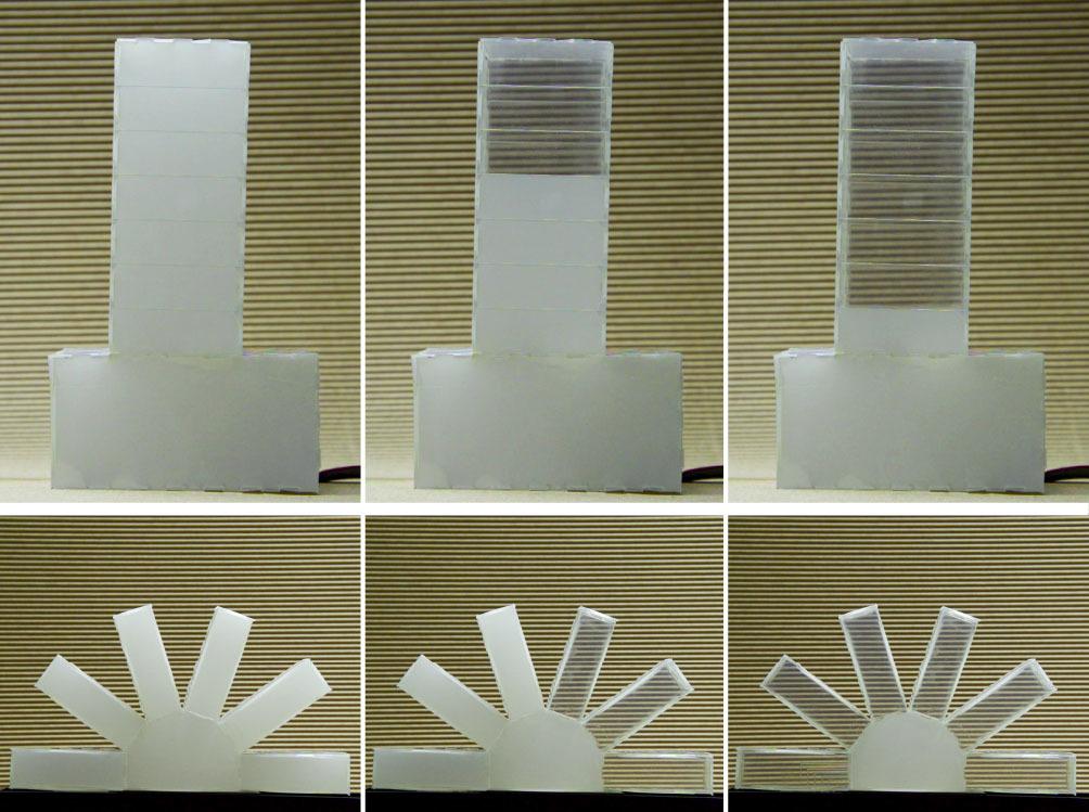Европейские исследователи создали новый композитный материал с изменяемой прозрачностью