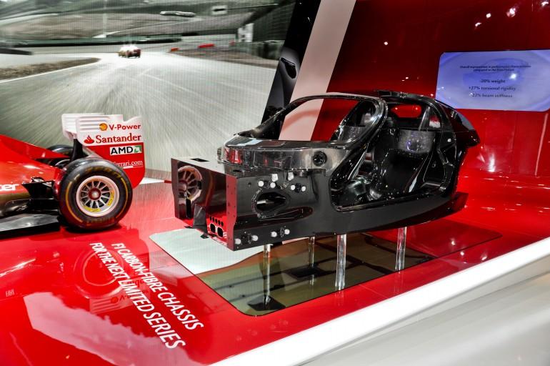 Ferrari f70: гибридный автомобиль на базе болидов формулы-1