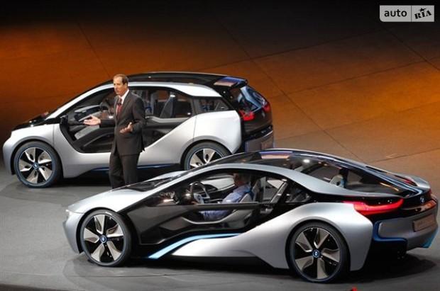 Франкфуртский автосалон представляет новые эко-концепты от bmw