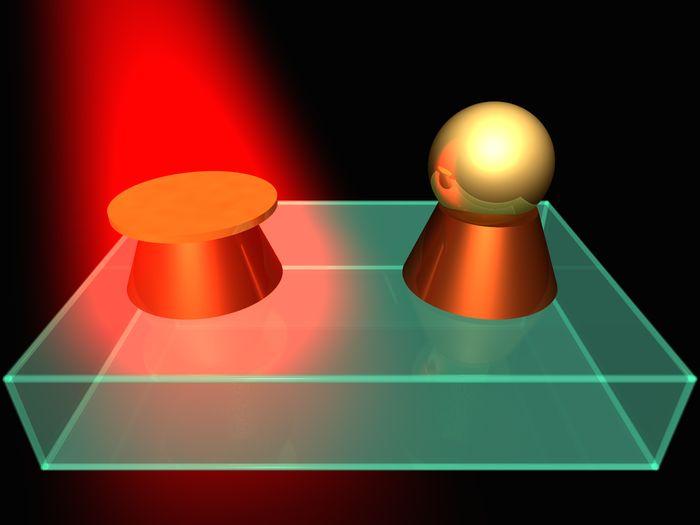 Гибридные наноантенны станут новой платформой для сверхплотной записи информации