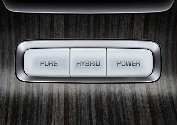 Гибридный автомобиль нового поколения от volvo cars