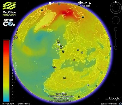 Google earth на службе экологии