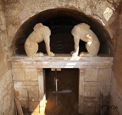 Гробница времён александра великого в греции: открыта третья комната