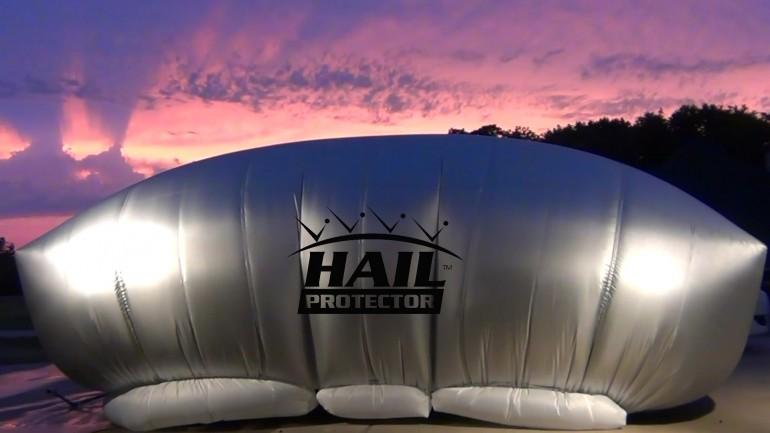 Hail protector – автомобильная «подушка безопасности», защищающая от града