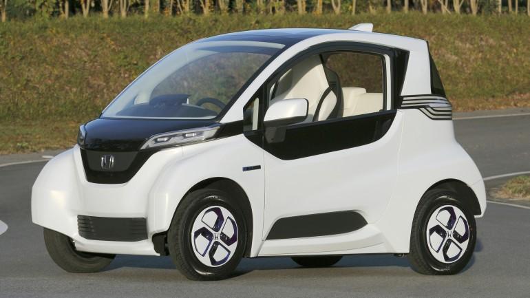 Honda micro commuter – миниатюрный электромобиль для города