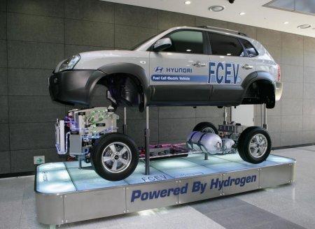 Hyundai планирует начало продаж водородного автомобиля на 2012 год