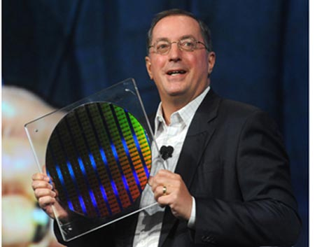 Idf 2009: intel показала первые 22-нанометровые микросхемы