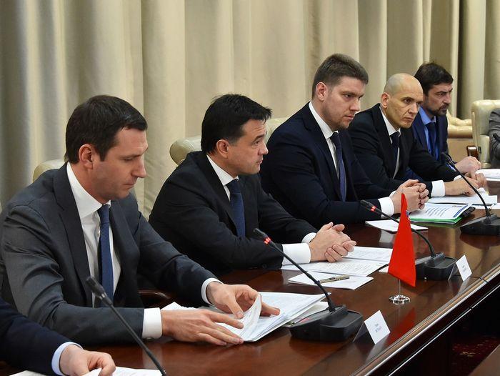Инвестиционный климат подмосковья обсудили на встрече с губернатором