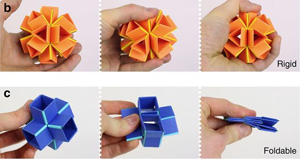 Инженеры создали складной оригами-материал