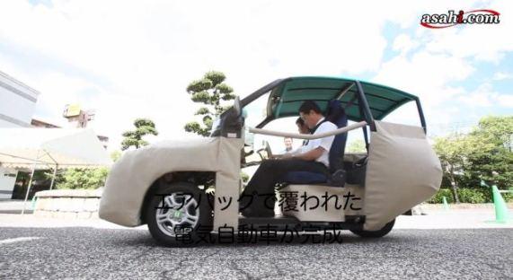 Isave-sc1 – самый безопасный электромобиль в мире