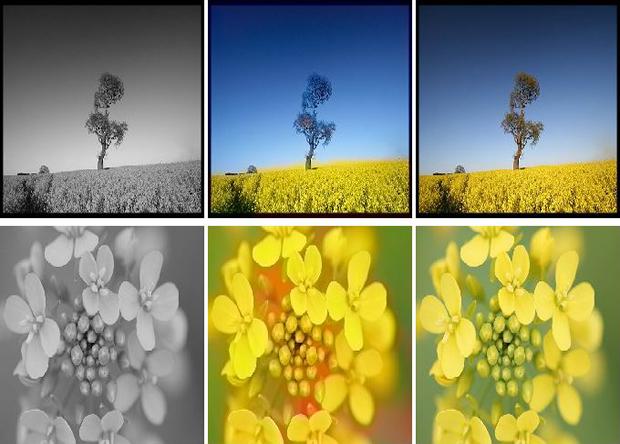 Искуственный интеллект раскрасил черно-белые фотографии