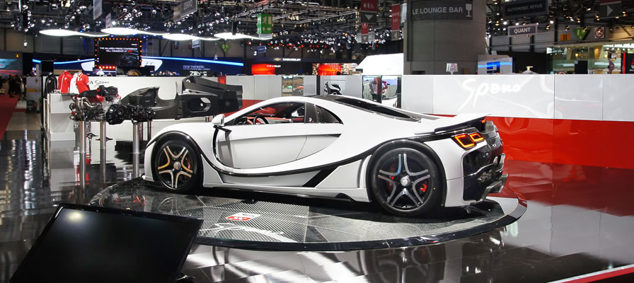 Испанский суперкар с графеновым кузовом gta spano