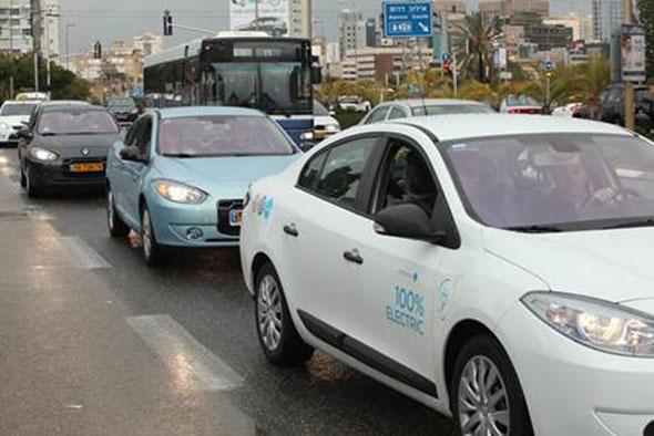Израиль строит национальную сеть электромобилей