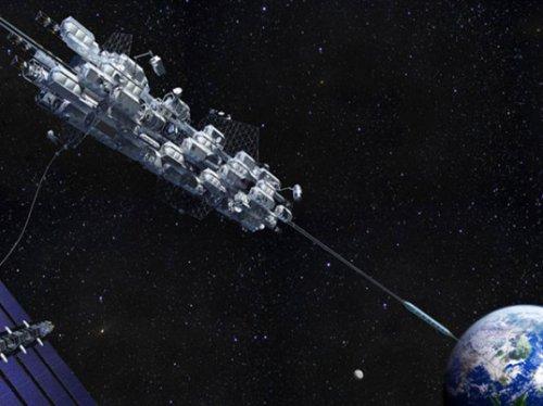Японцы планирую построить первый космический лифт к 2050-му году