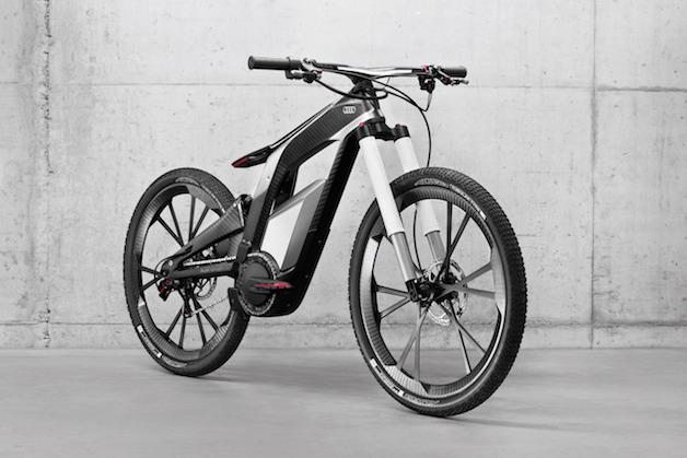 Электрический велосипед от audi: зелёное будущее уже здесь