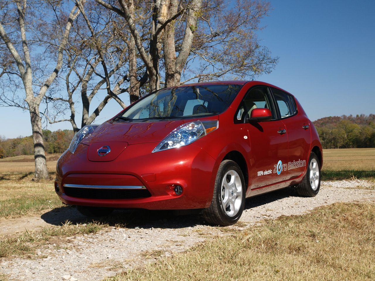Электромобиль nissan leaf: новые подробности