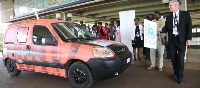 Электромобиль покоряет африку