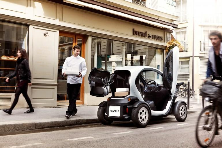 Электромобиль renault twizy – жизнь для бизнеса