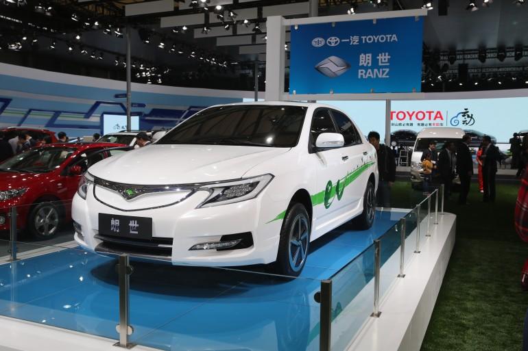 Электромобили toyota для китайского рынка