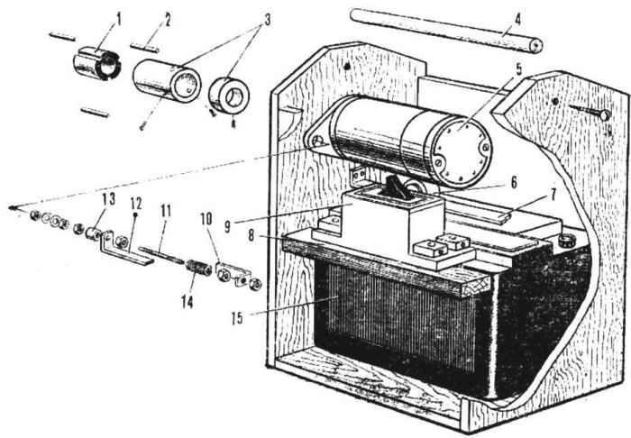 Электростартер — микро-двигателю