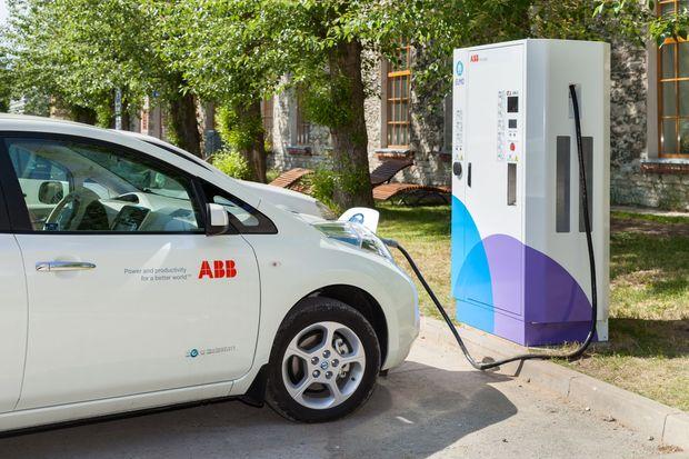 Эстония запускает первую национальную сеть зарядки автомобилей