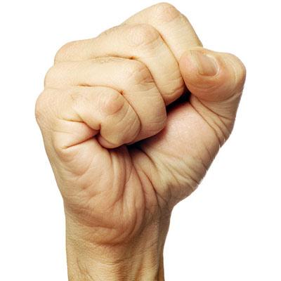 Эволюция на кулаках