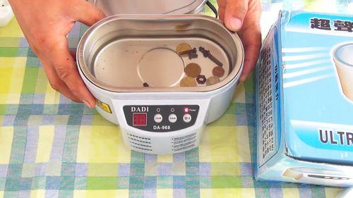 Как пользоваться ультразвуковой ванной dadi da-968