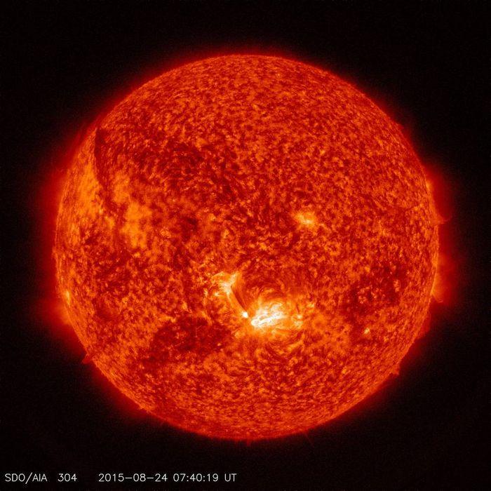 Как посмотреть насолнце втелескоп