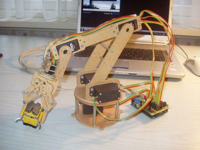 Как сделать мини робота в домашних условиях